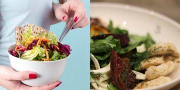 Ideas de ensaladas de dieta frescas, ricas y nutritivas con pollo