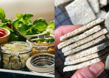 Receta de galletas integrales saladas y saludables