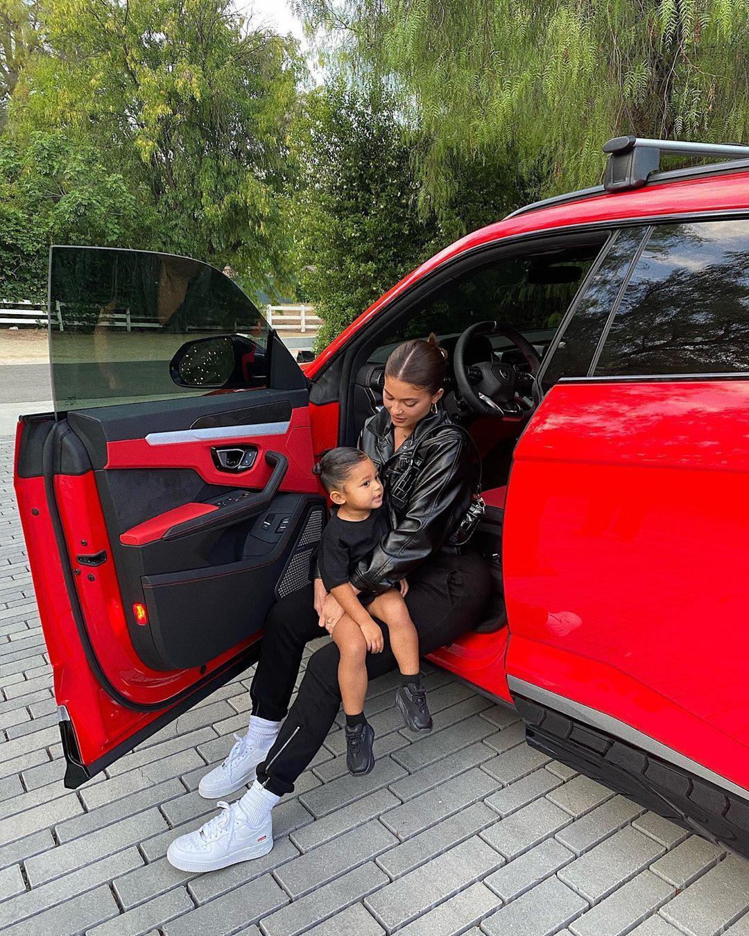 Stormi, la hija de dos años de Kylie Jenner