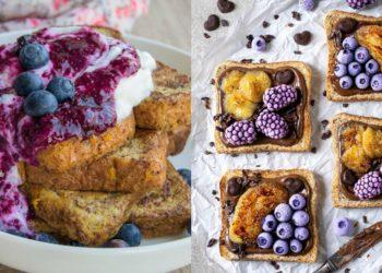Ideas de meriendas saludables con pancitos dulces fáciles y rápidos