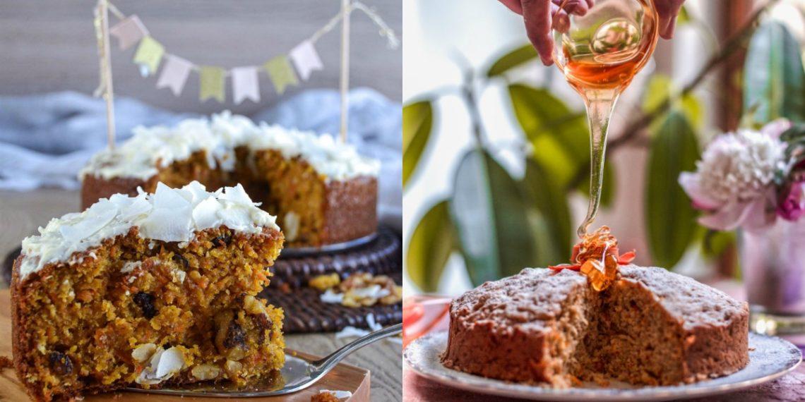 Receta de pastel de zanahoria (carrot cake) para tus meriendas sanas