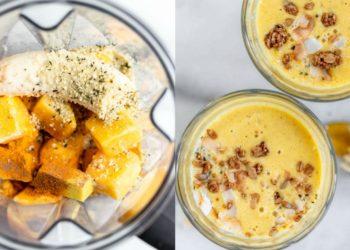 Qué es y cómo se prepara la receta de leche dorada con banana
