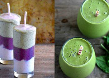 Recetas de batidos saludables y ricos (smoothies) para desayuno y merienda