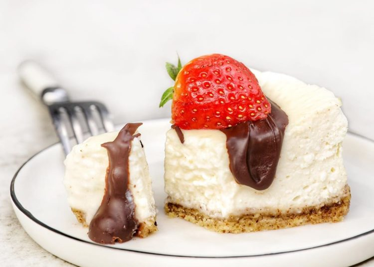 Cheesecake de yogur