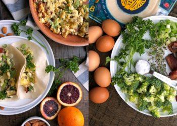 Recetas de tacos con tortillas bajos en carbohidratos para el desayuno