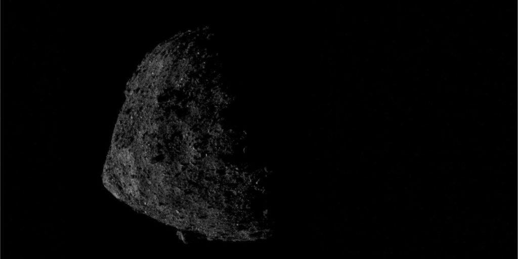 misión de la NASA en el asteroide Bennu