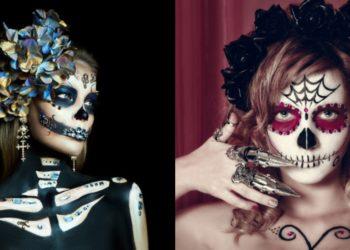 Maquillajes de catrinas 2020