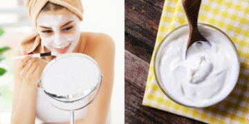 Mascarilla con yogur para las arrugas