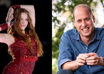 Charla entre Shakira y el Príncipe William