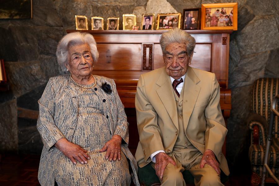 la pareja de casados más longeva del mundo