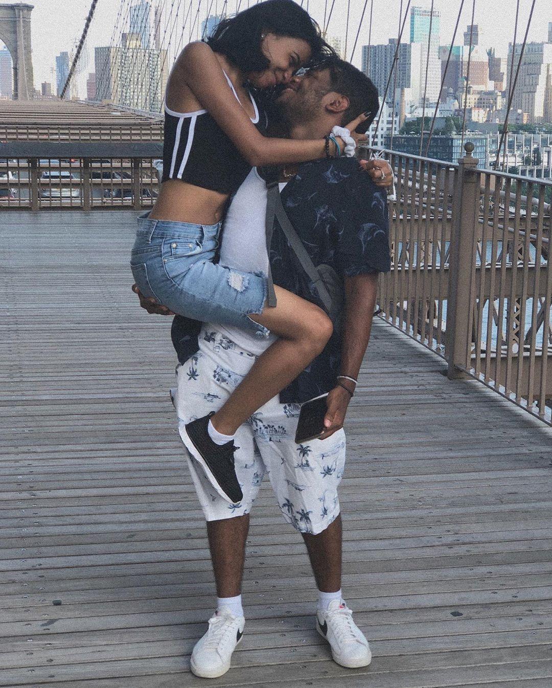 Accidente de ciclista volvió viral una propuesta de matrimonio