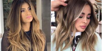 cabellera negra - efecto de color