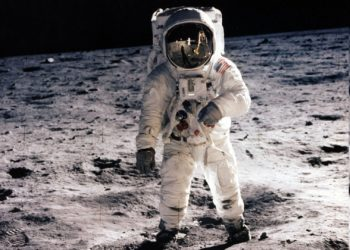 astronauta Buzz Aldrin