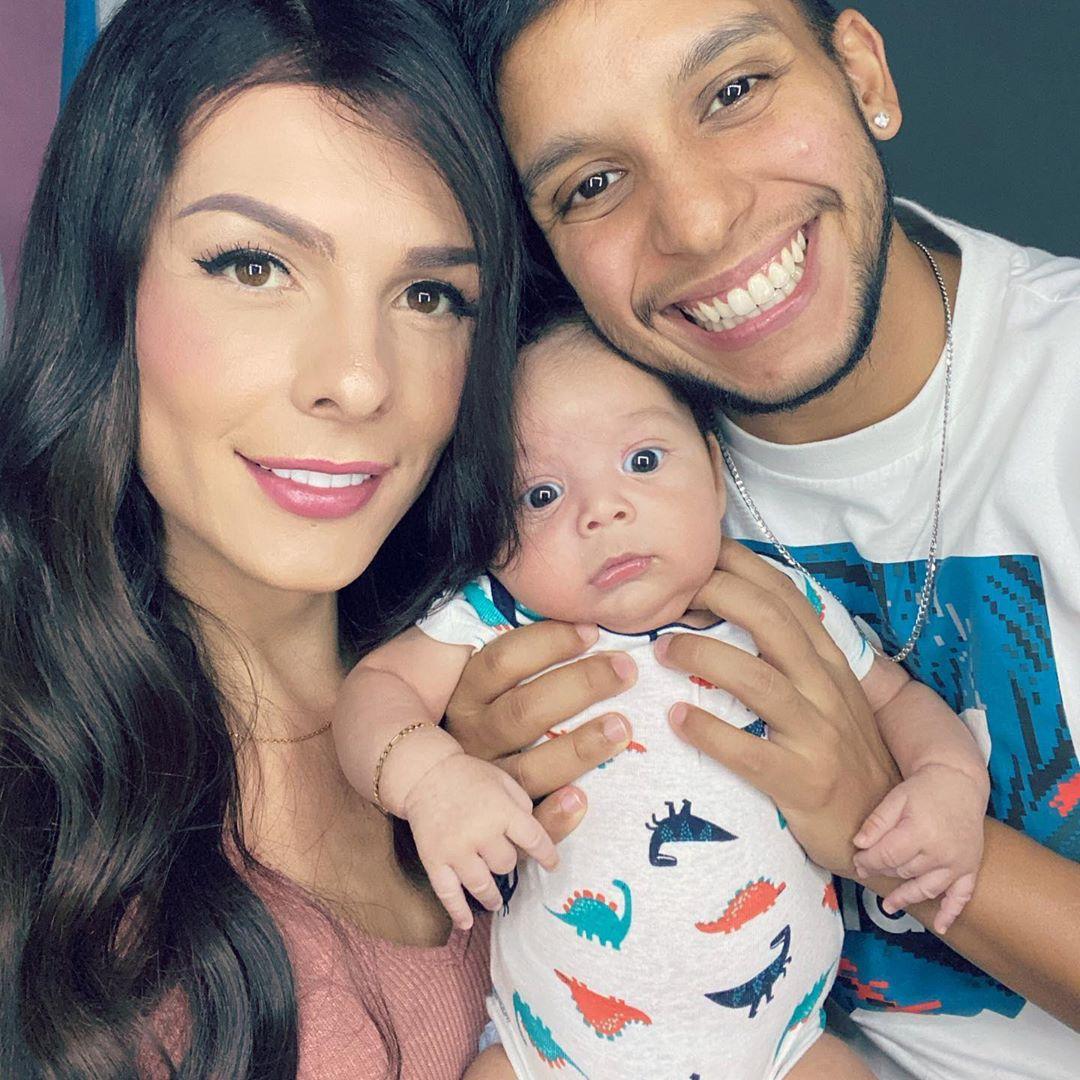 Novio trans de Danna Sultana tras dar a luz