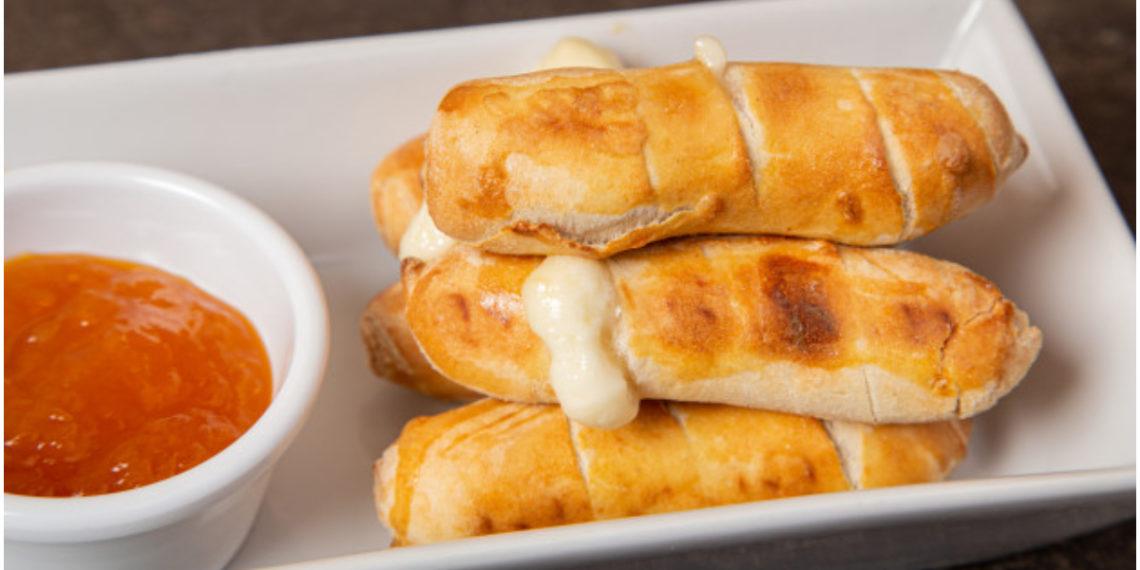 palitos de mozzarella