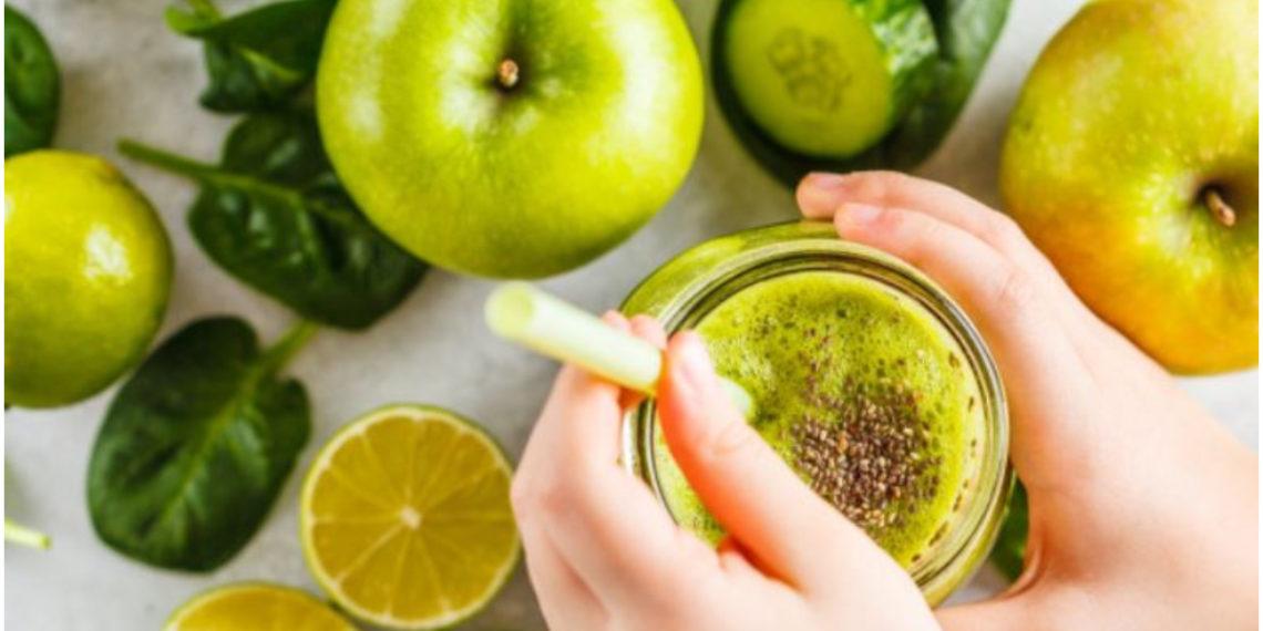 jugos detox de manzana