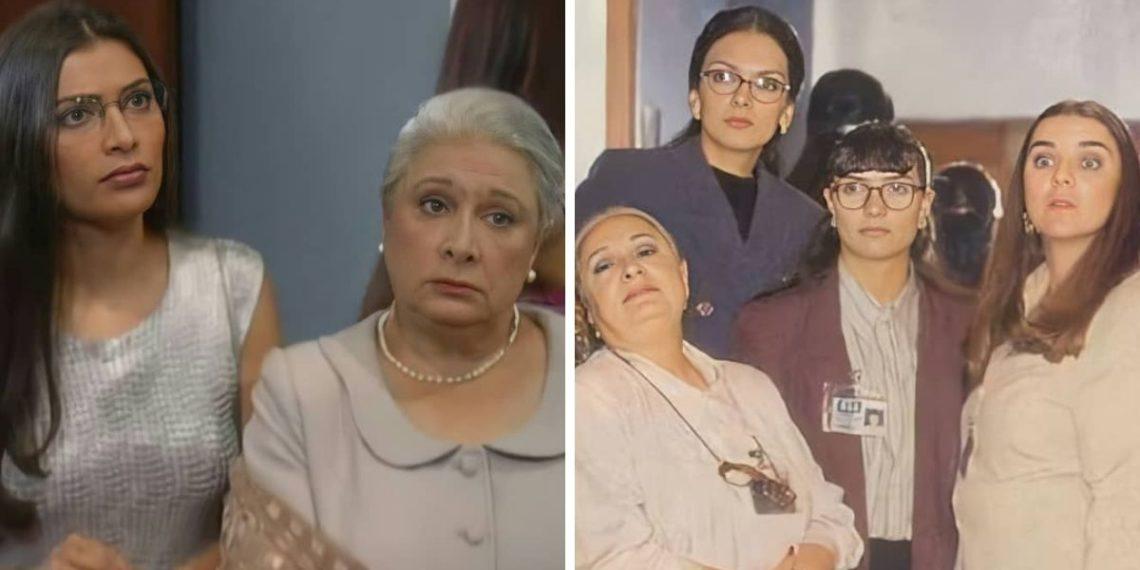Dora Cadavid interpretando a 'Inesita'. Foto: Instagram/ anaorozco_fans2020