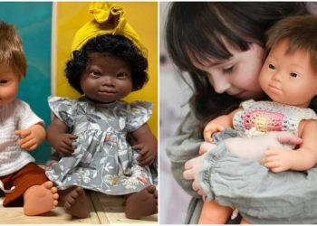 muñecos con síndrome de down