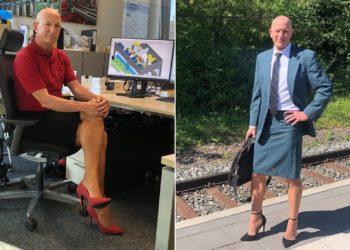 Mark Bryan, el hombre que usa falda y tacones
