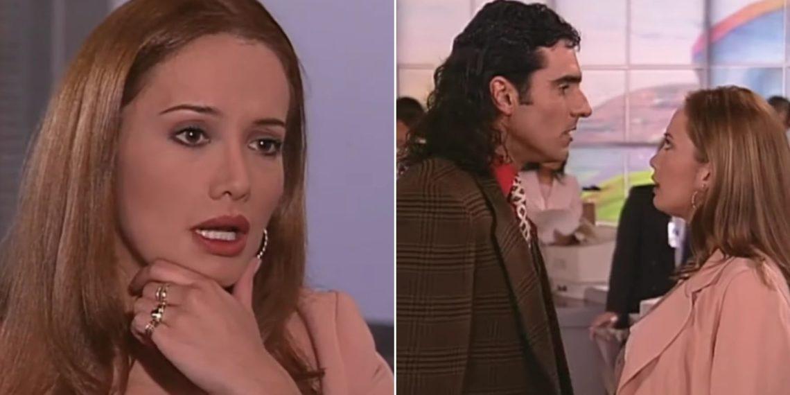 Lidia la sexy secretaria de Pedro, el escamoso