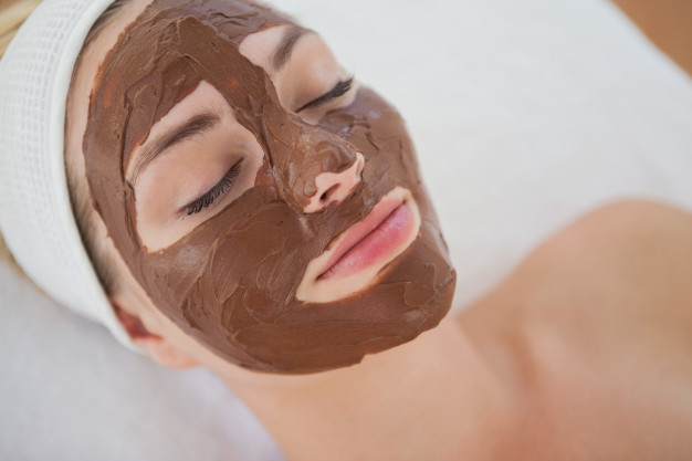 mascarillas de chocolate
