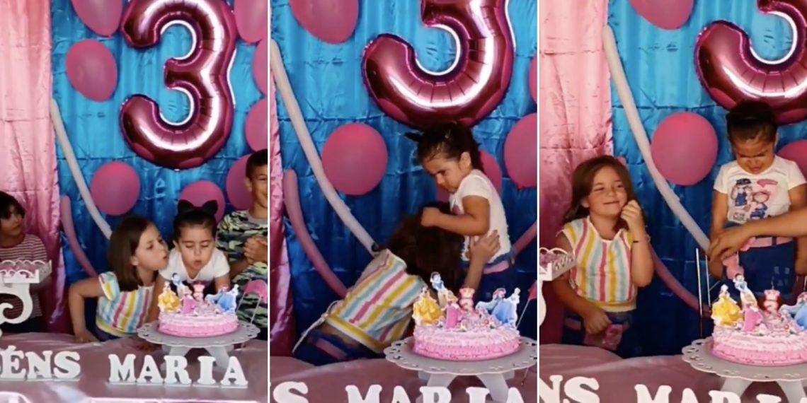 pelea en fiesta de cumpleaños