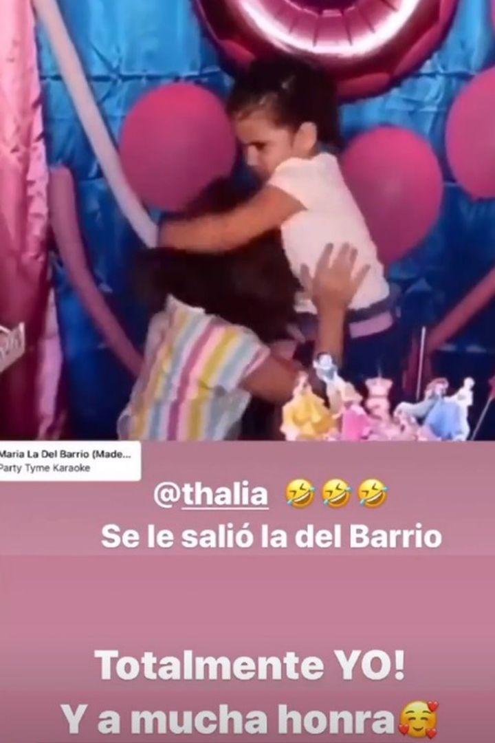 Thalía reacciona a la pelea de las niñas de Brasil