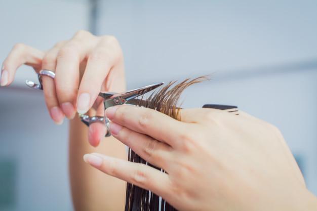 despuntar el cabello