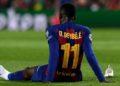 ¿Dembélé al Manchester United? El francés no sabe si seguir en el Barça