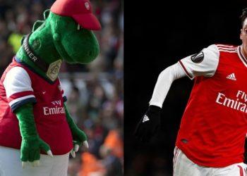 Mesut Özil se ofrece a pagar el salario completo del Gunnersaurus