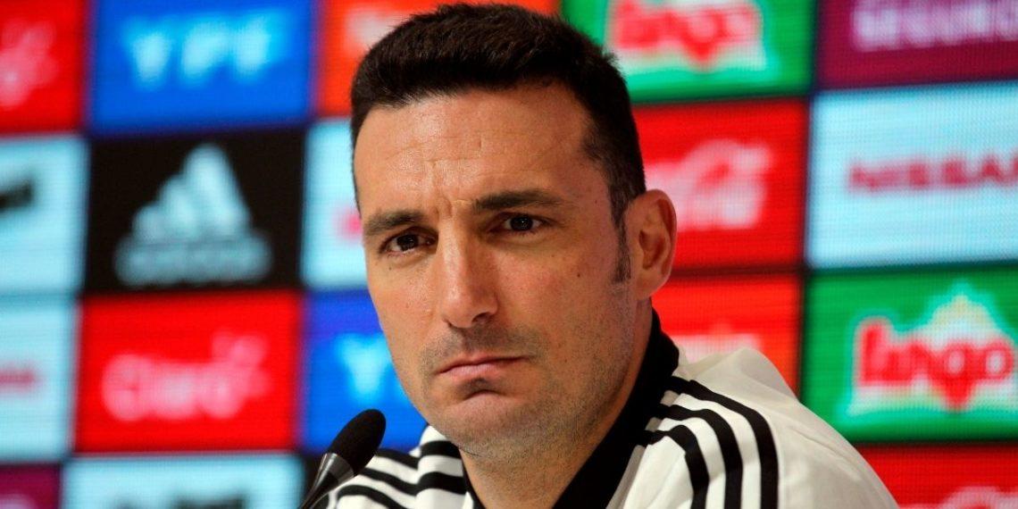 Scaloni habla sobre Messi luego de verlo entrenar con Argentina