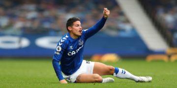 El dato que revela el brillo de James Rodríguez con el Everton