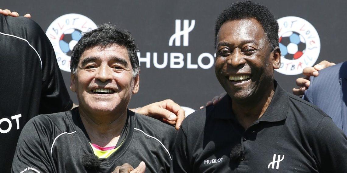 Así felicitó Diego Armando Maradona a Pelé por los 80 años de vida