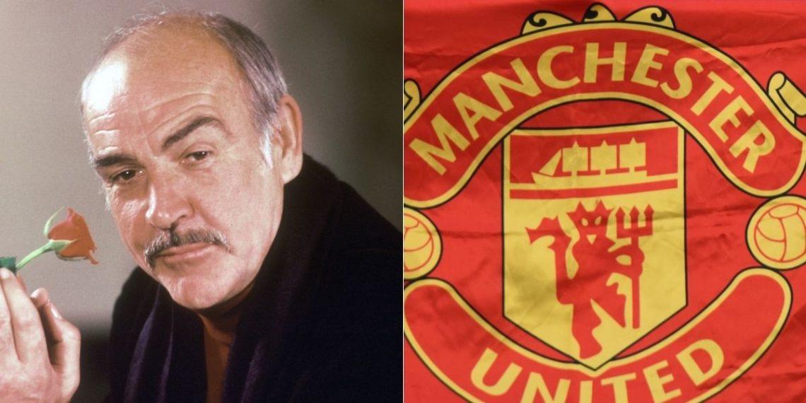 Sean Connery, el actor que decidió no jugar con el Manchester United