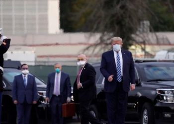Donald Trump fue dado de alta