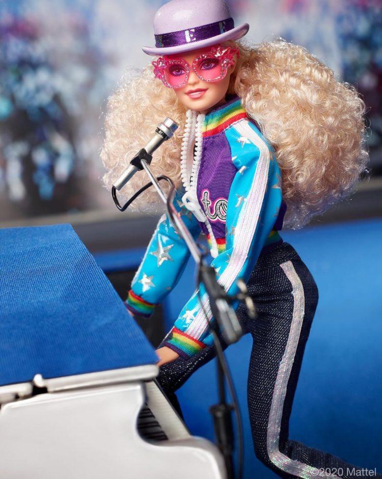 Elton John Barbie Walmart