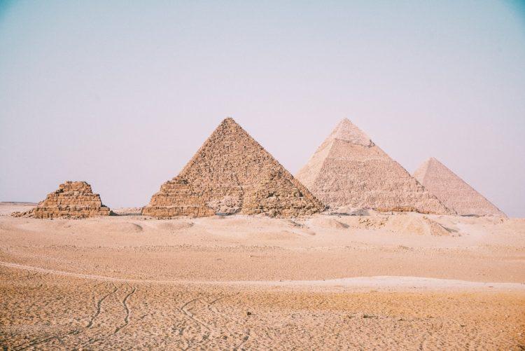 Pirámides de Gizeh, Egipto