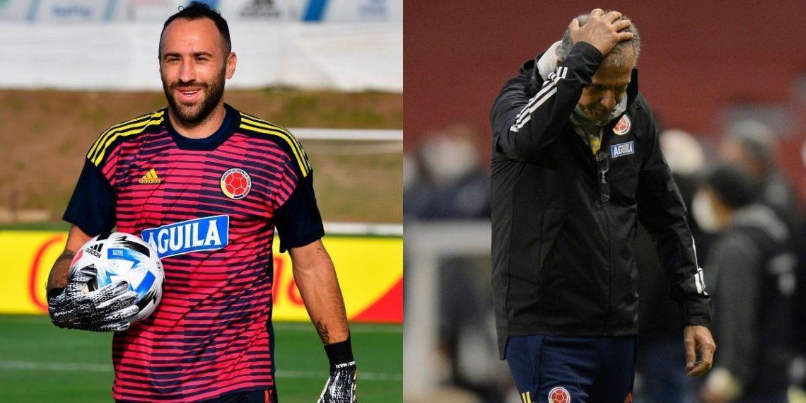 Aseguran que Ospina discutió con Queiroz y no quiso jugar para Colombia