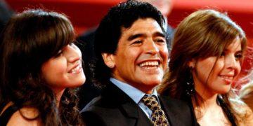 El sentido mensaje de despedida de Dalma Maradona para su papá