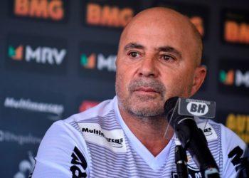 Jorge Sampaoli, entrenador del Atlético Mineiro, da positivo por COVID-19