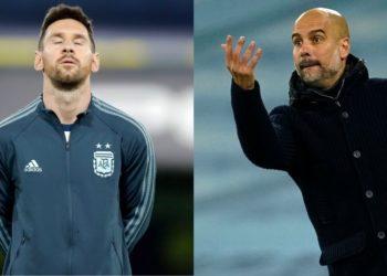 Pep Guardiola habla de forma directa sobre la situación de Lionel Messi