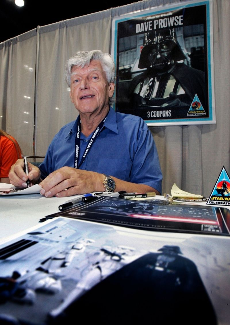 Falleció David Prowse