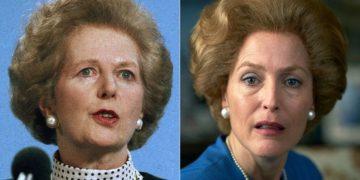 La ardua de Gillian Anderson para transformarse en Margaret Thatcher