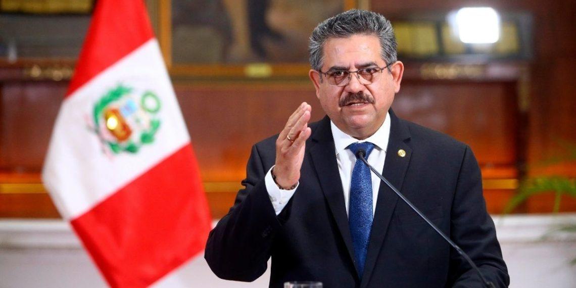 Manuel Merino dimitió a la presidencia