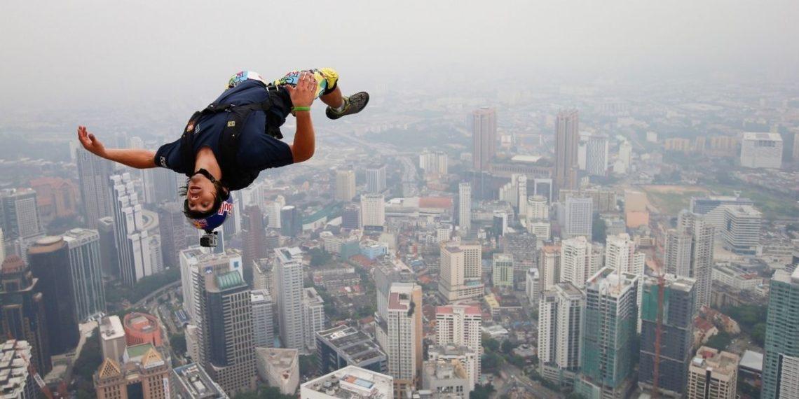 Vince Reffet, el hombre volador