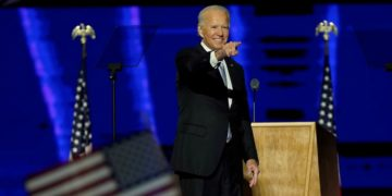 """""""Prometo ser un presidente que no busca dividir sino unir"""": Joe Biden"""