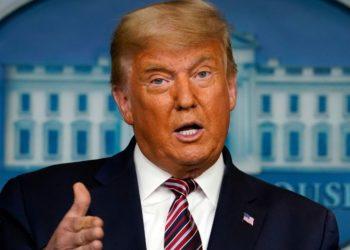Trump asegura que dejará la Casa Blanca