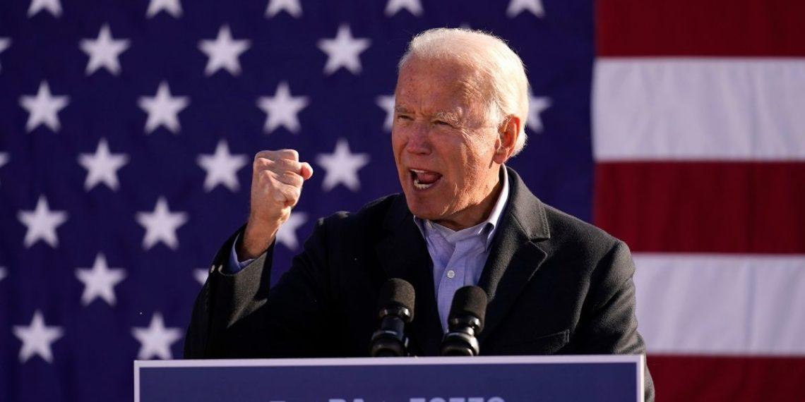 la campaña de Joe Biden en Estados Unidos