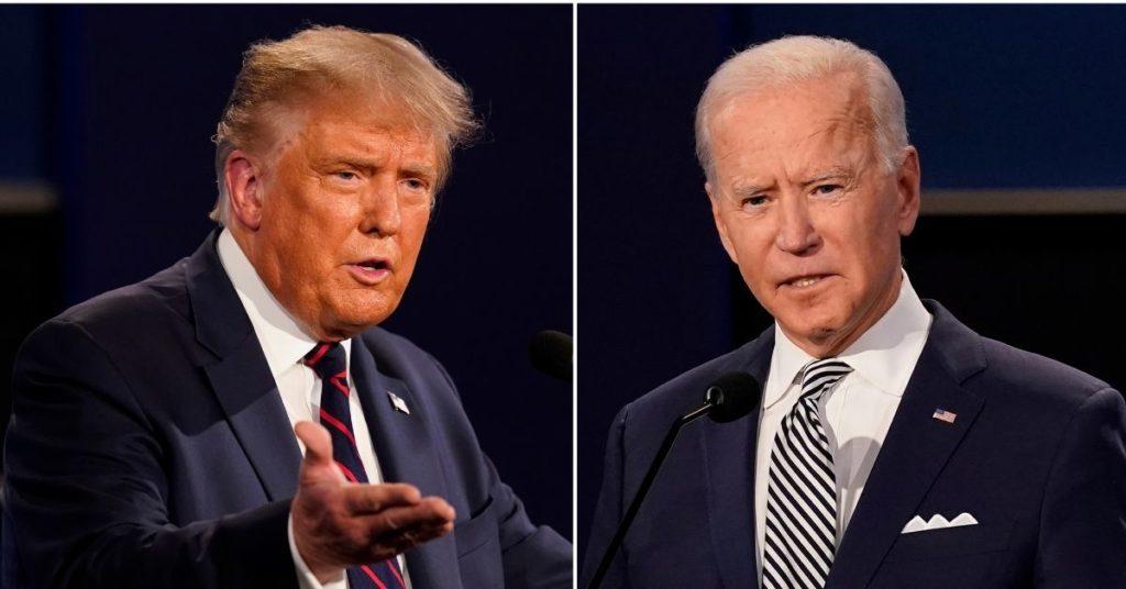elecciones presidenciales entre Donald Trump y Joe Biden
