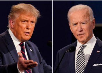 Joe Biden y Donald Trump buscan ganar la mayor cantidad de votos electorales que garanticen la elección presidencial. Foto: AP